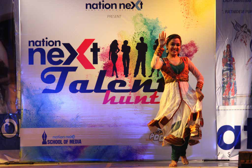 Nation Next Talent Hunt at LAD college, Nagpur got a rocking start against the backdrop of a jam-packed auditorium and hundreds of participants.