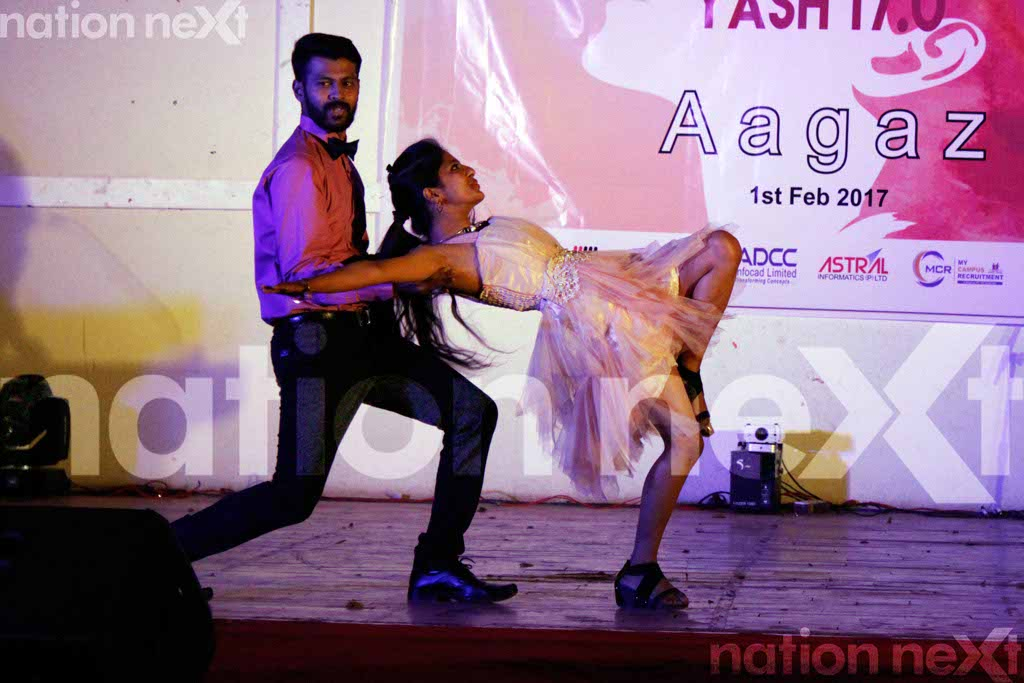 YCCE students struck a chord through their captivating performances at YASH 17.0