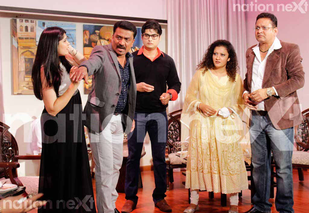 FUNNY BONES: Actors delight Nagpurians with their hilarious performances in 'Four 2 ka 1,' leaving them dumbfound