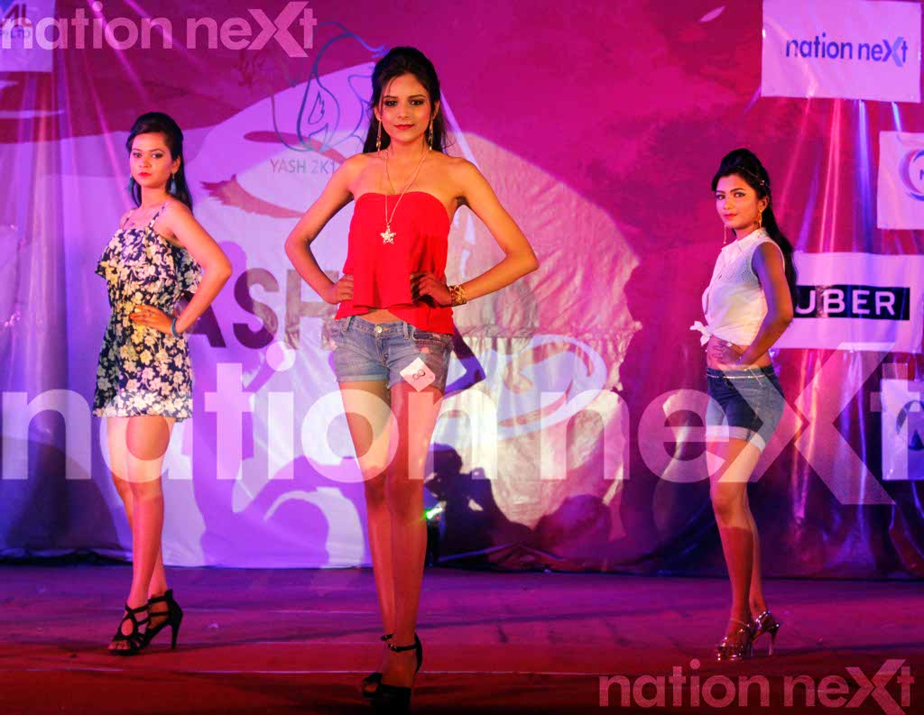 When contestants ruled the fashion runway during Fashionista at YCCE