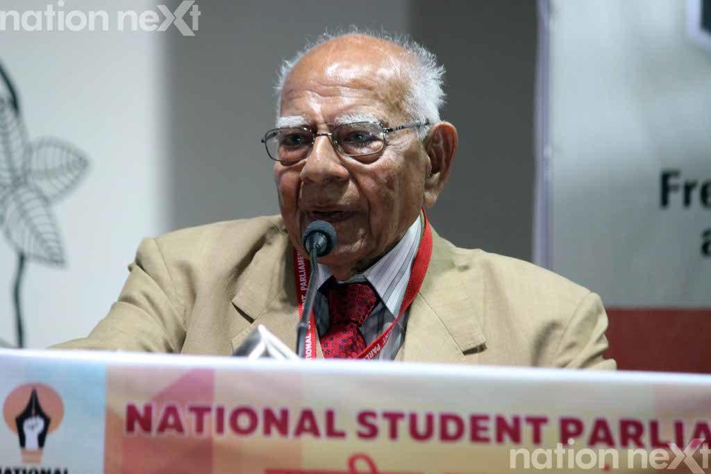17- 20-01-2017-Adv Ram Jethmalani- Indian Student Parliament 2017 at Raisoni College-Suyash Sethiya (35)