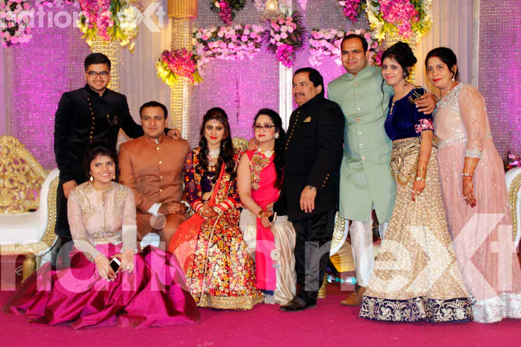 Ankit and Bhanu Dewani's wedding reception