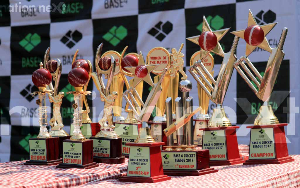 Base4 executives had a field day at the cricket tournament organised by the company in association with Nation Next as the media partner.