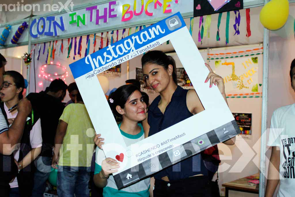 Students flaunt their cool side with panache during Cashendo at Tirpude College