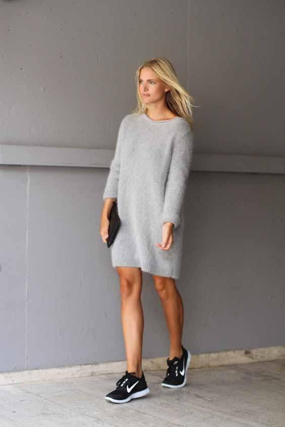 A sweater dress - pinterest