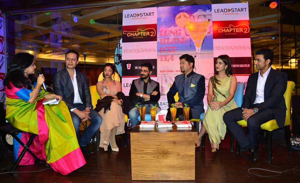 Ram Kamal Mukherjee's book - Long Island Iced Tea - was unveiled in presence of actors, industry veterans and corporate bigwigs.
