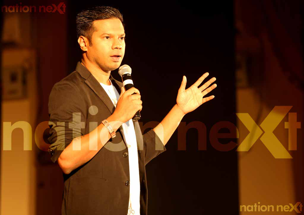 ALL THINGS COMEDY: Stand-up comedian Daniel Fernandes fits the bill perfectly with his satire at VNIT College in Nagpur