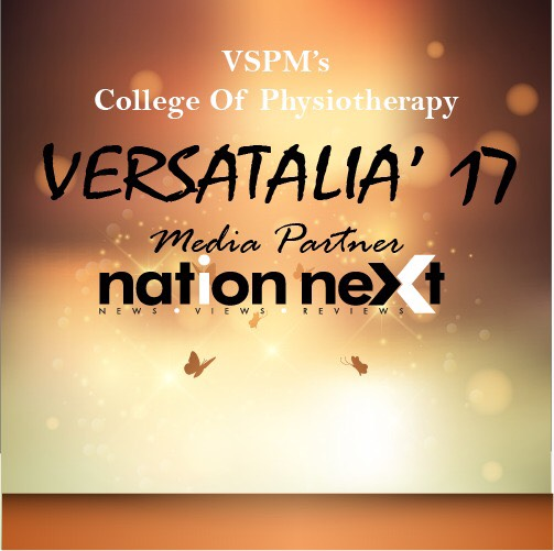 Nagpur's VSPM College of Physiotherapy to conduct it's annual fest – Versatalia' 17!
