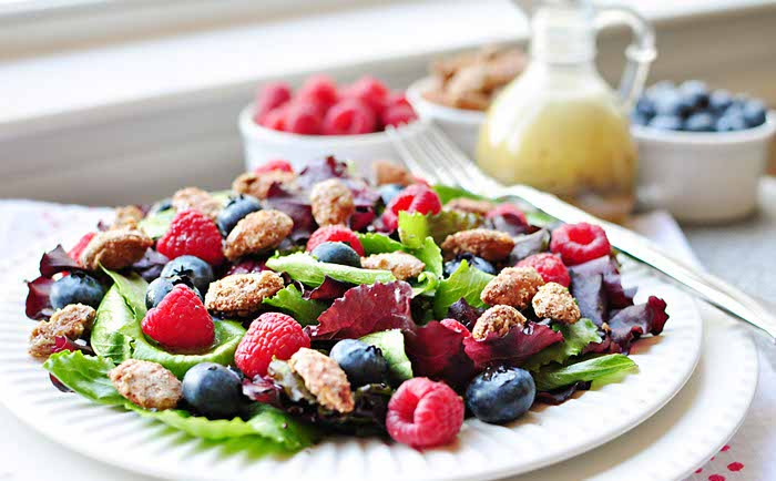 Healthy salads help to increase protein and vitamin levels of the body. Spare few minutes to cook these amazing salads and enjoy your day at work.