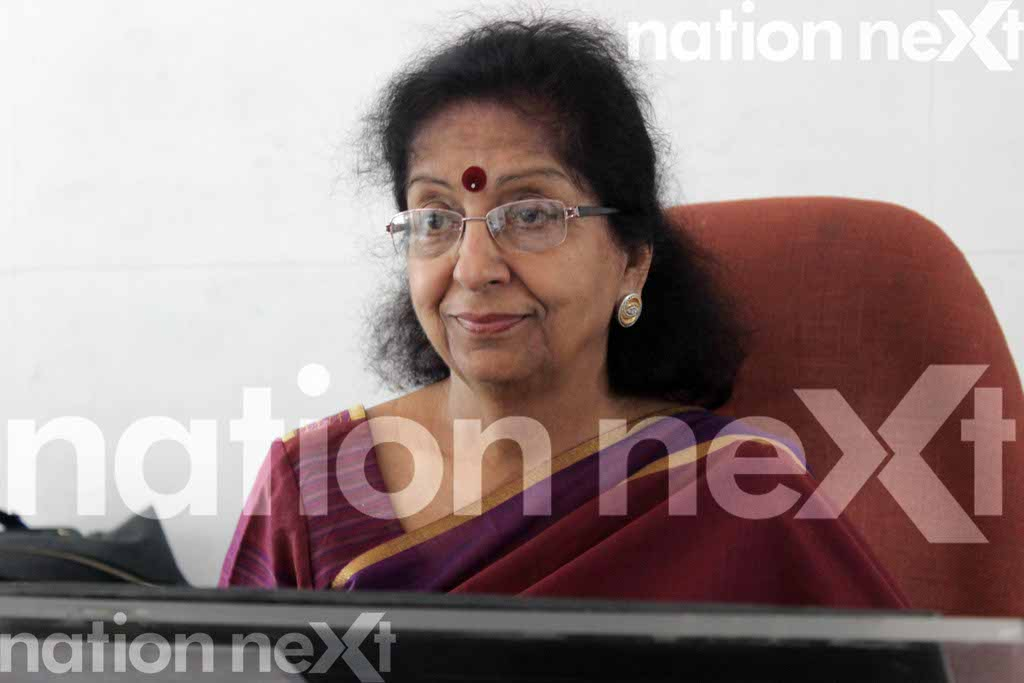 Neeru Kapai, Director and the woman behind Modern School speaks about the school, her way of education and her quotient with Aruna Upadhyay.