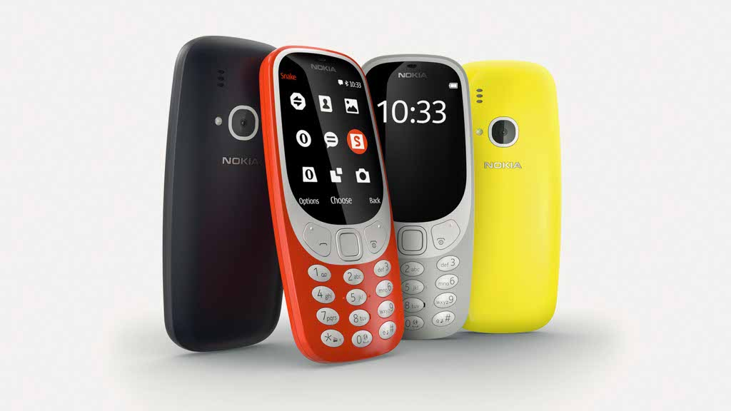 The new Nokia 3310 with a new design and updated features was unveiled at the Mobile World Congress 2017 held in Barcelona on Sunday.