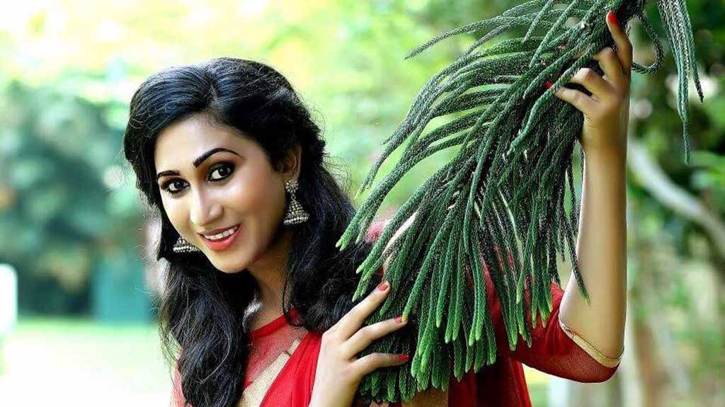 Malayalam superstar Mammootty introduced his co-star, Anjali Ameer, a transsexual, who will play the lead role in a bilingual movie directed by Ram.