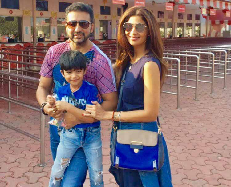 In a video which Raj Kundra shared on instagram, Viaan is seen thanking his parents Raj and Shilpa Shetty Kundra in an 'Oscar' speech!