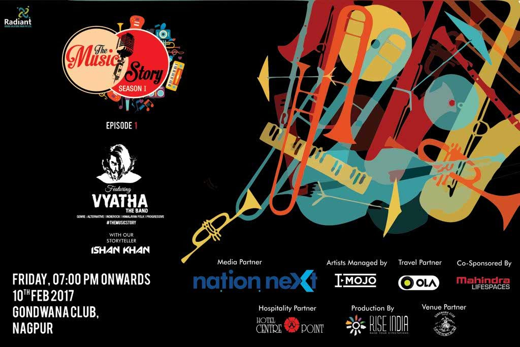 With Nation Next as the media partner, The Music Story Season 1 is all set to kick start at Gondwana Club, on February 10, 2017, 7 pm onwards.