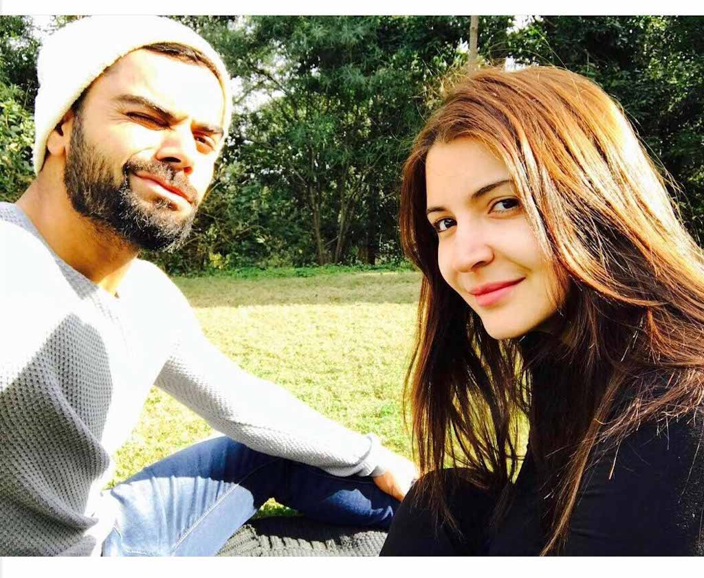 Indian Cricket Team captain Virat Kohli shared a lovely picture and a sweet message for Anushka Sharma on his Instagram profile post Valentine's Day.