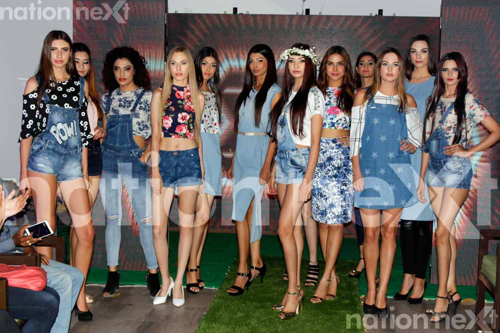 When stunning models walked the ramp during the opening of resto-lounge SOHO at Nagpur