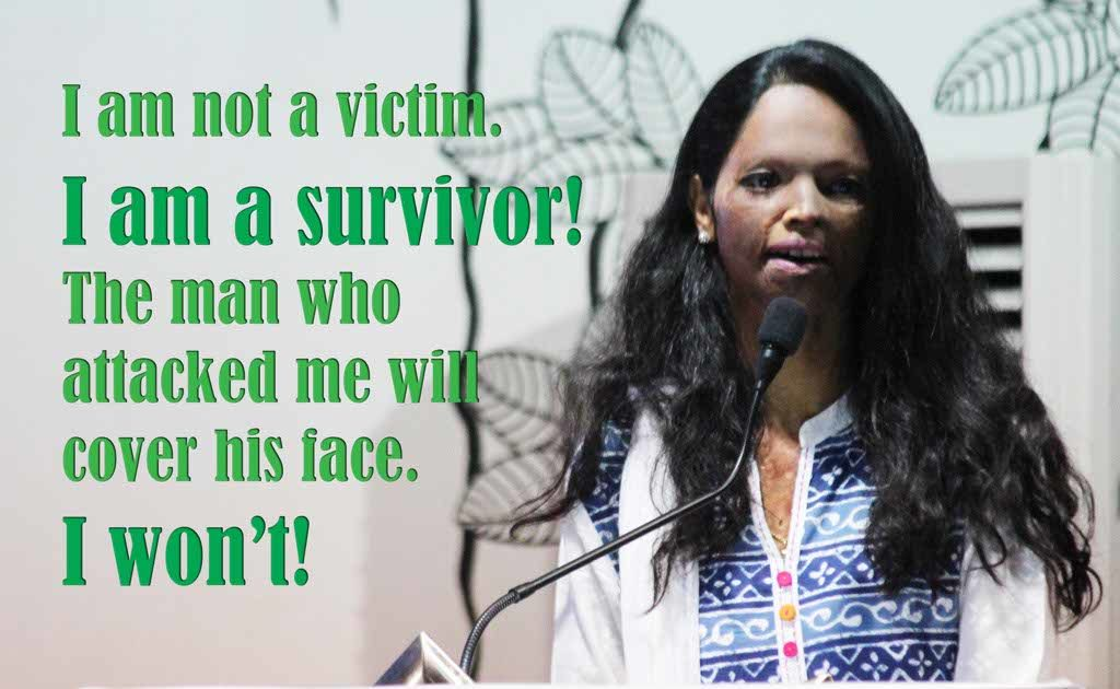 Acid Attack Survivor Laxmi Agrawal whose face and other body parts were left disfigured post an acid attack in 2005 narrates her inspiring story.