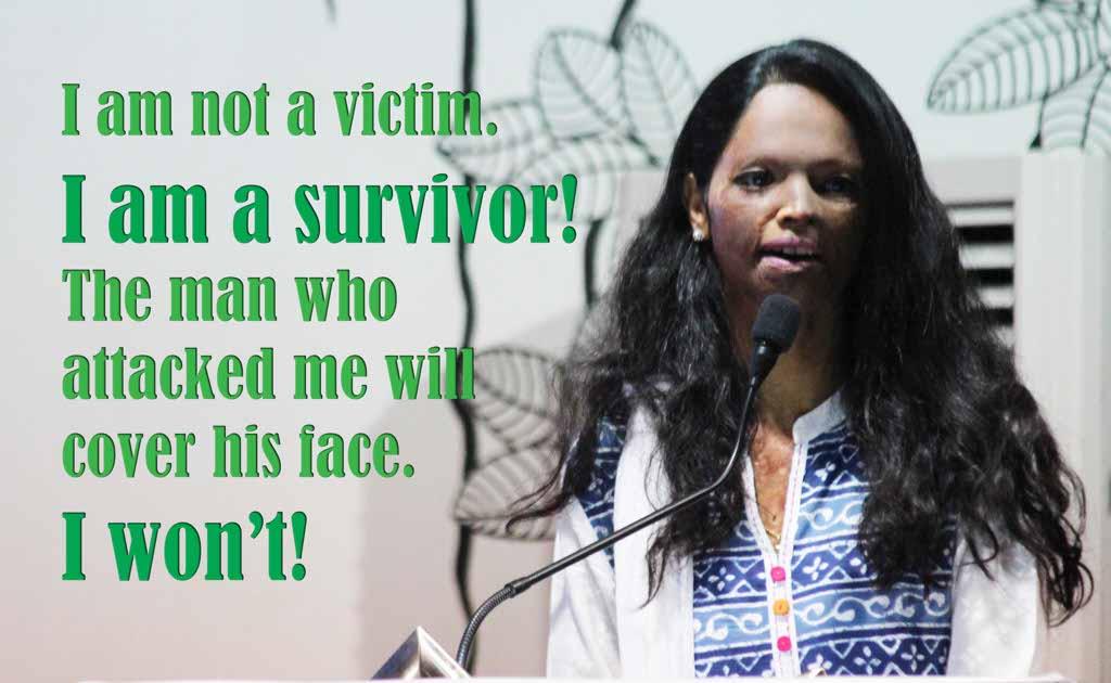 Acid Attack Survivor Laxmi Agrawal narrates her inspiring story