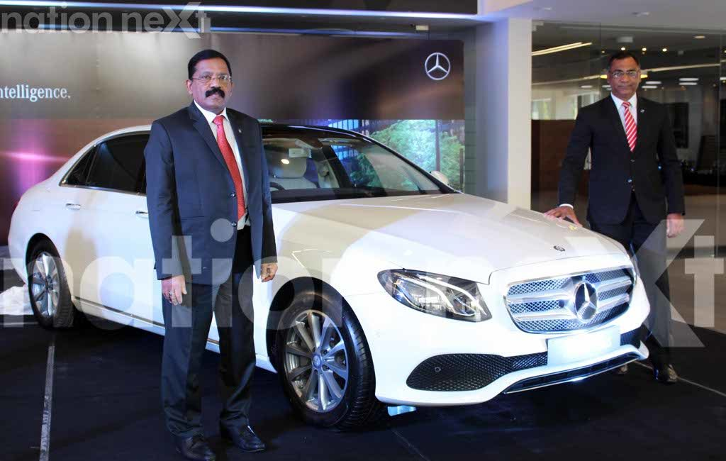 AR Rajan and Sachin Lambe at Mercedes-Benz-Suyash Sethiya