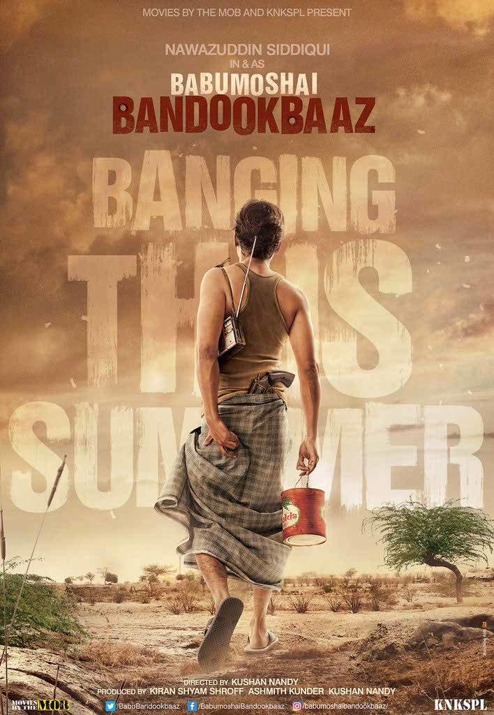 Gangs of Wasseypur actor Nawazuddin Siddiqui recently unveiled the first teaser poster of his upcoming action thriller film Babumoshai Bandookbaaz.