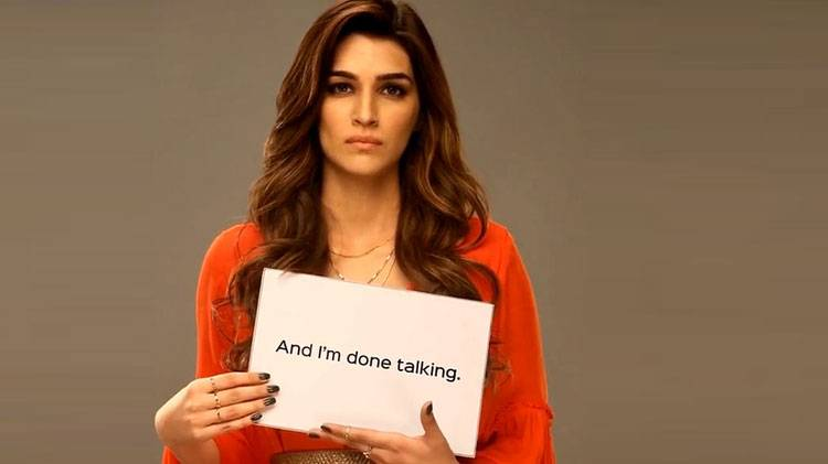 Bollywood actress Kriti Sanon strongly voices her opinion on Women's Day