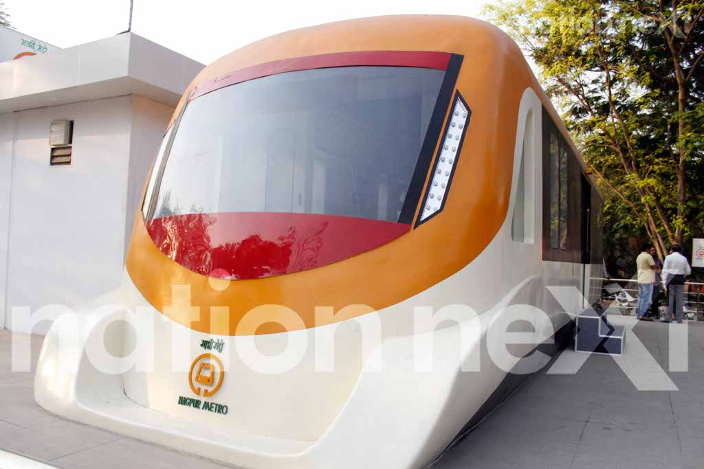 Nagpur Metro's first phase from Khapri to Munje Chowk and Hingna to Munje Chowk is most likely to be operational from February 2019.