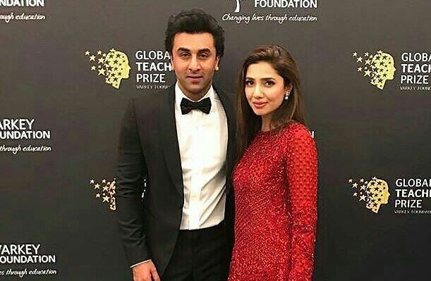 In the video which has no sound, Mahira Khan is seen pleading with Ranbir Kapoor for something, which is still not known.