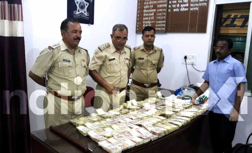 Sakkardara Police seized old currency notes worth Rs 53.44 lakhs from a car near Chhota Tajbagh, Nagpur, at around 9:45 pm on Wednesday.