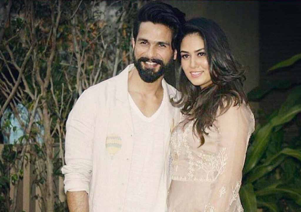 Shahid Kapoor, who bagged the Dadsaheb Phalke Excellence Award for Padmaavat on Saturday, has dedicated the award to his wife Mira Rajput.