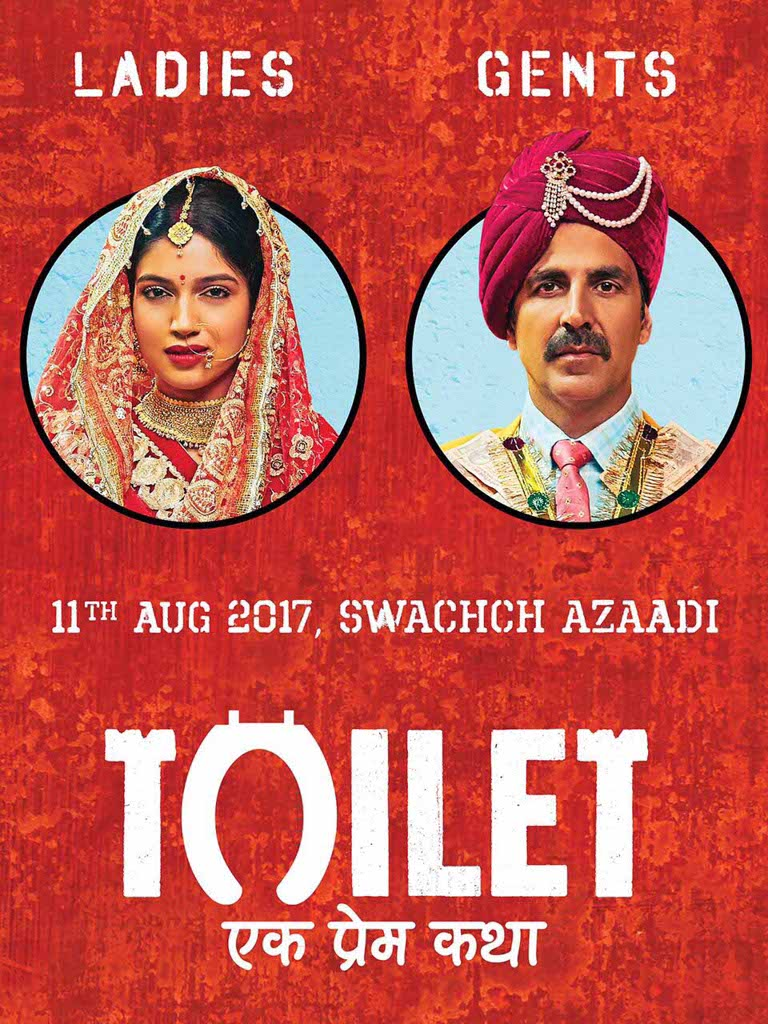 On late Thursday evening, Bollywood actor, Akshay Kumar shared the first poster of his upcoming film, Toilet Ek Prem Katha on twitter.