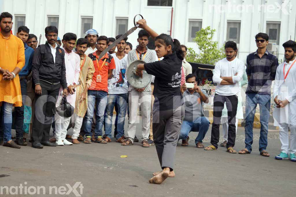 Jijauchya Waghini' - a Nagpur group has started teaching martial arts and defense techniques to enable young girls to safeguard themselves.