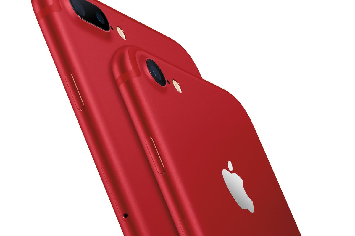 Along with a 9.7-inch iPad, Apple also launches a special edition of red colour iPhone 7 and 7 Plus