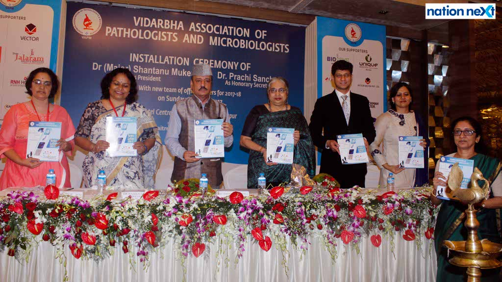 New team of Vidarbha Association of Pathologists and Microbiologists installed in Nagpur