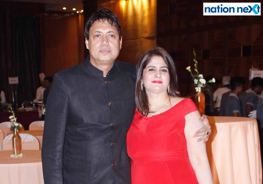 Close friends of Ritu and Vijay Bajaj came calling at a party hosted by the couple to wish them many more years of blissful togetherness.