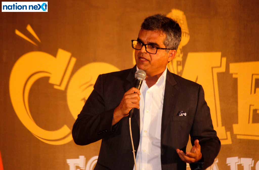 Comedians Atul Khatri and Abhishek Upmanyu entertain Nagpurians at Comedy For A Cause III by NRT 83