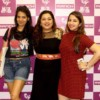 Monali Gharad with Ketki and Dr Tulika Arbat during Dance Evolution VII organised at Deshpande Hall by Manch and D2F
