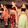 Models during the fashion show organised by TBZ at Radisson Blu, Nagpur