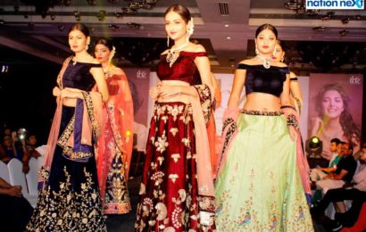 Models dazzle on the ramp in spectacular jewellery to showcase Tribhovandas Bhimji Zaveri's collection in Nagpur