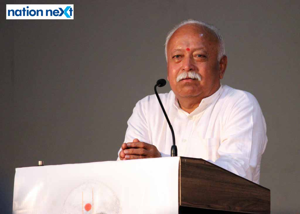 RSS chief Mohan Bhagwat today said that unlike the popular perception, people sitting at RSS headquarters in Nagpur don't run the Modi led government.