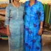 Yashodara Sohani and Dr Vinita Virgandha during the 19th anniversary of Rag's Boutique at Ramnagar, Nagpur