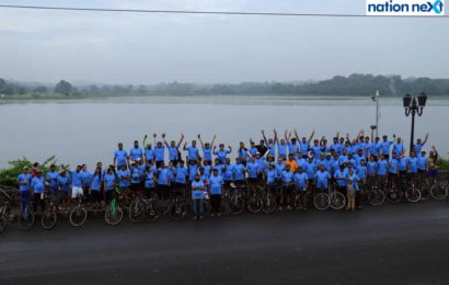 India Peace Centre organises a bicycle rally to celebrate International Day of Peace