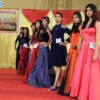 Students during the ramp walk round