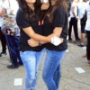 Alisha Lakhwani and Yukta Pahwa during VPA Marathon held at Nagpur
