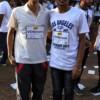 Amol Srivastava and Ayush Dhuwaviya during VPA Marathon held at Nagpur
