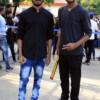 Somitra Bhongade and Shahrukh Siddiqui during VPA Marathon held at Nagpur
