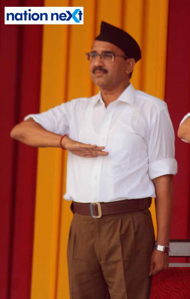 29-09-17-Rajesh Loya-Vijayadashmi celebrations by RSS-Amar Ashok Jajoo (8)