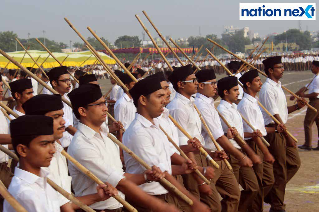 29-09-17-Vijayadashmi celebrations by RSS-Amar Ashok Jajoo (10)