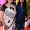 Adv Darshana and Archana Pandey during Mahaprasad organised by N Kumar at Poonam Chambers, Nagpur