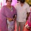 Brij and Neelu Malhotra during Mahaprasad organised by N Kumar at Poonam Chambers, Nagpur