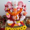 Devotees seek Lord Ganesha's blessings during Mahaprasad organised by Adv Shyam Dewani at his office in Nagpur